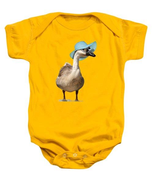 Summer Goose Baby Onesie
