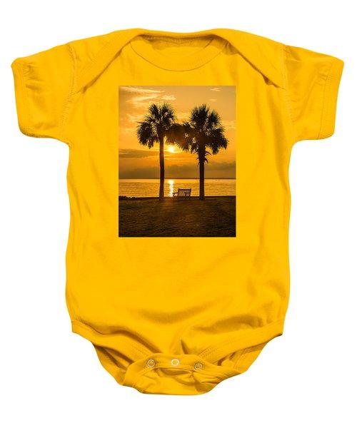 Summer Sunrise - Charleston Sc Baby Onesie