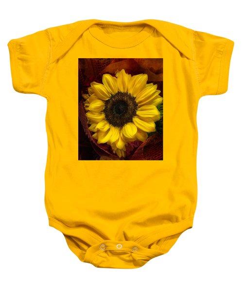 Sun In The Flower Baby Onesie