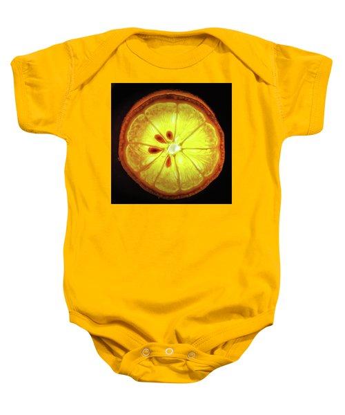 Sun Lemon Baby Onesie