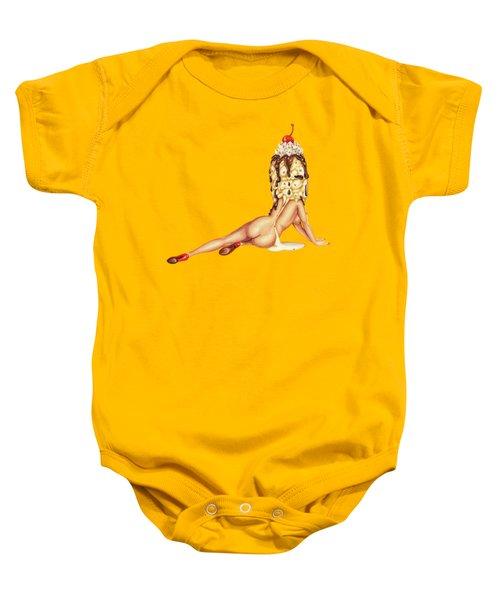Sundae Best Baby Onesie by Kelly Gilleran