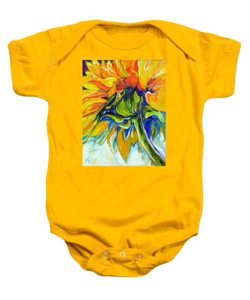 Sunflower Day Baby Onesie