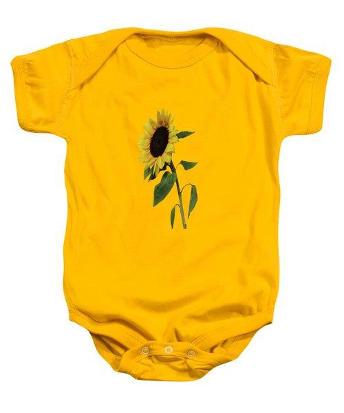 Sunflower Glow Baby Onesie