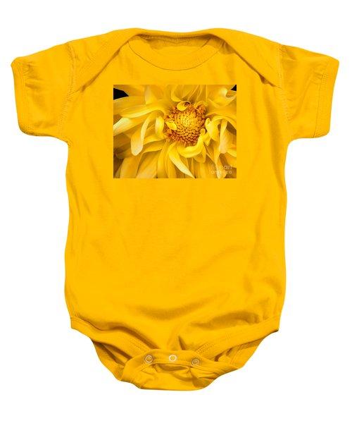 Sunflower Yellow Baby Onesie