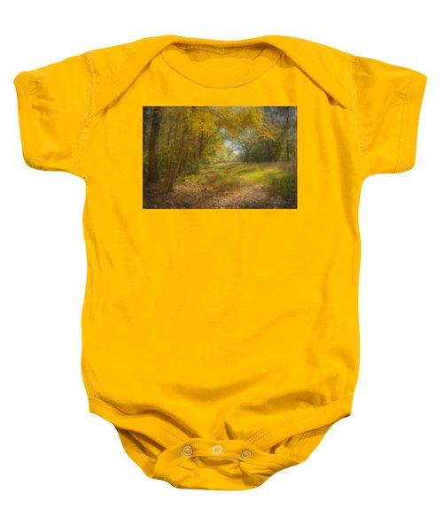 Sunlit Meadow In Borderland Baby Onesie