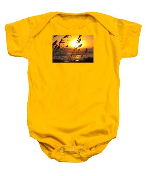 Sunrise Silhouette Baby Onesie