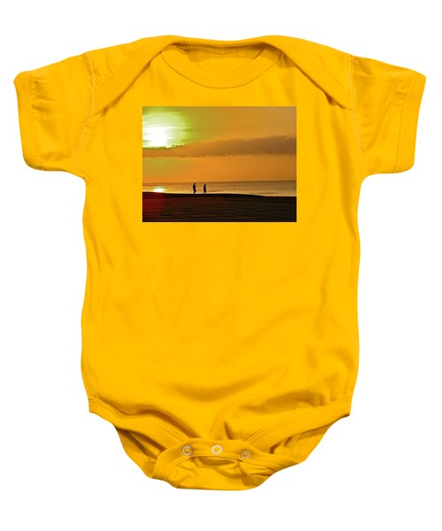 Sunrise Stroll Baby Onesie