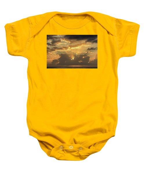 Sun's Rays Baby Onesie