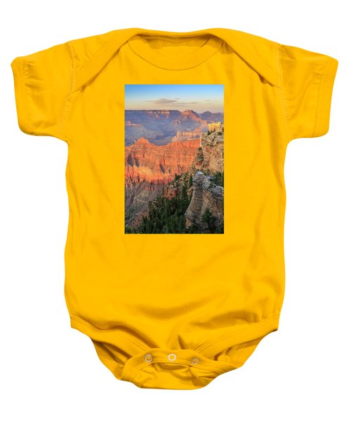 Sunset At Mather Point Baby Onesie
