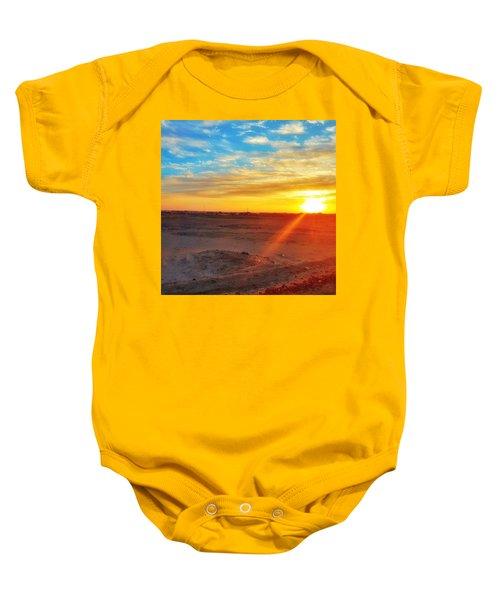 Sunset In Egypt Baby Onesie
