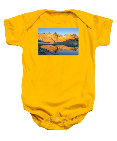 Sunset In The Enchantments Baby Onesie