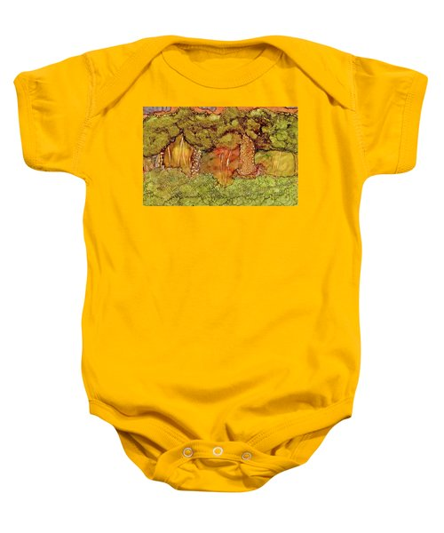 Sunset In The Forest Baby Onesie