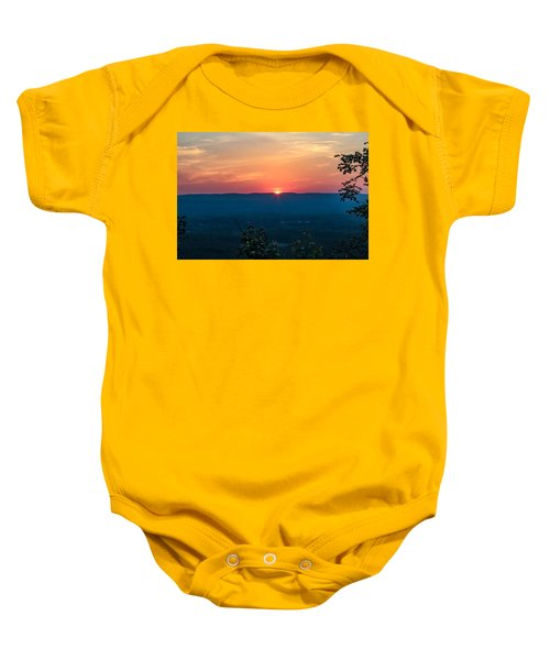 Sunset Over Easthampton Baby Onesie