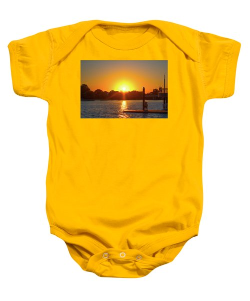 Sunset Over Hains Point Baby Onesie
