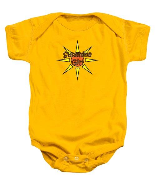 Sunshine Girl Baby Onesie