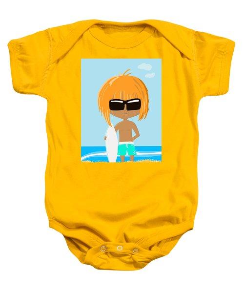 Surf Dude Baby Onesie