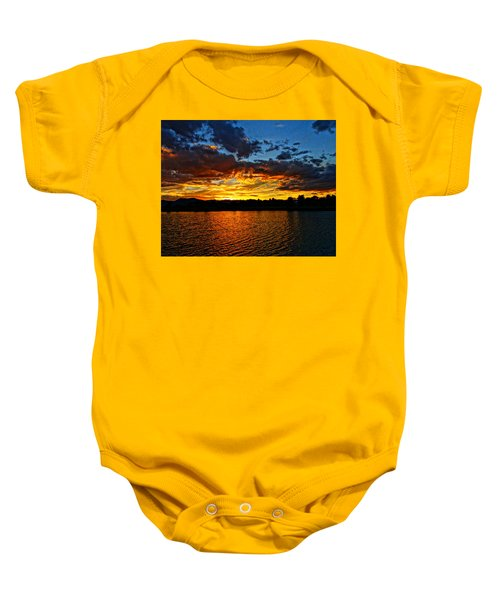 Sweet End Of Day Baby Onesie