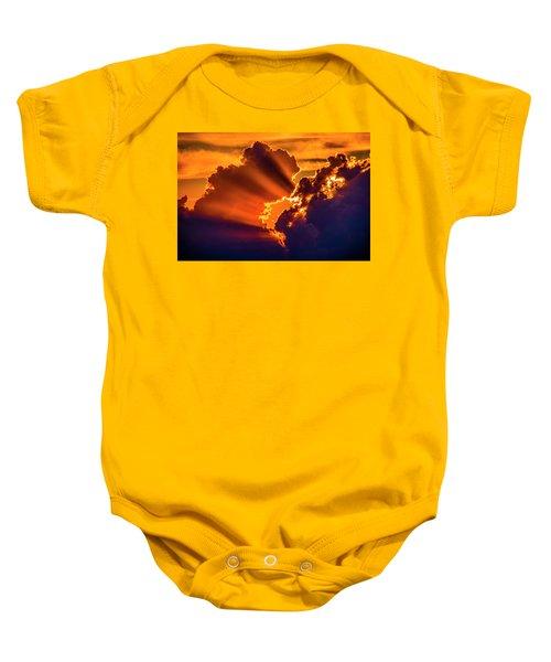 Sweet Nebraska Crepuscular Rays 010 Baby Onesie