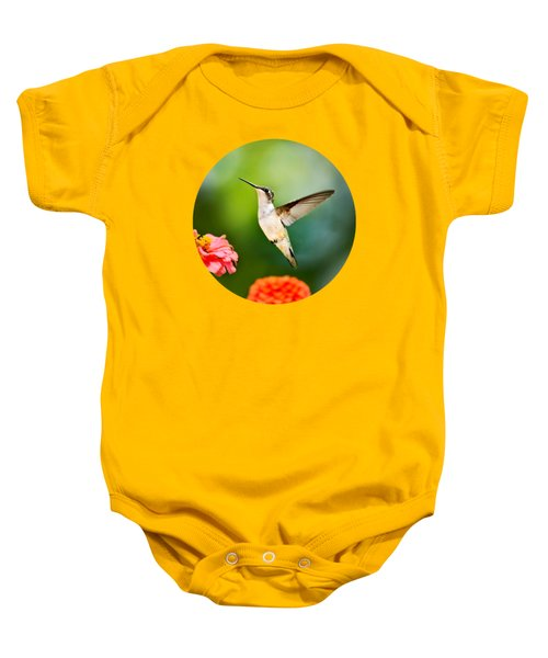 Sweet Promise Hummingbird Baby Onesie by Christina Rollo