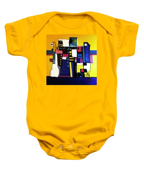 Take The Stairs Baby Onesie