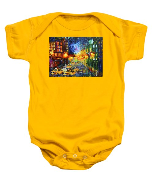 Taxi Cabs Baby Onesie