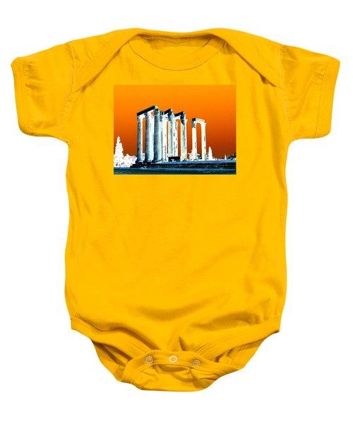 Temple Of Zeus Baby Onesie