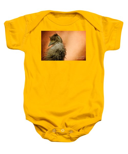 That Shy Come-hither Stare Baby Onesie by Lois Bryan