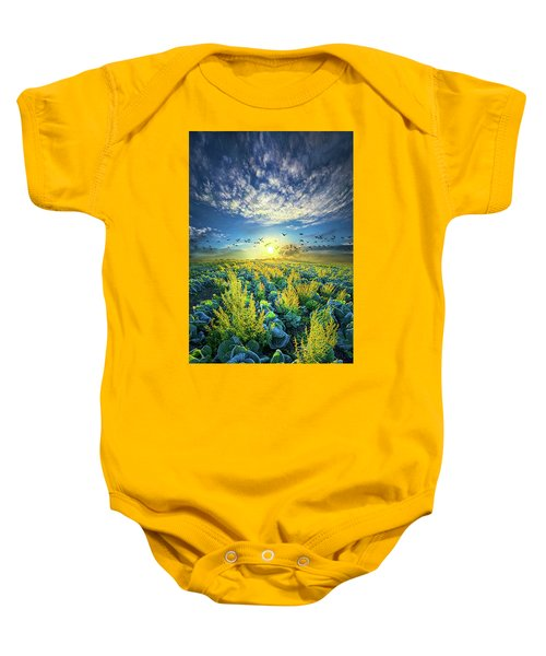 That Voices Never Shared Baby Onesie by Phil Koch