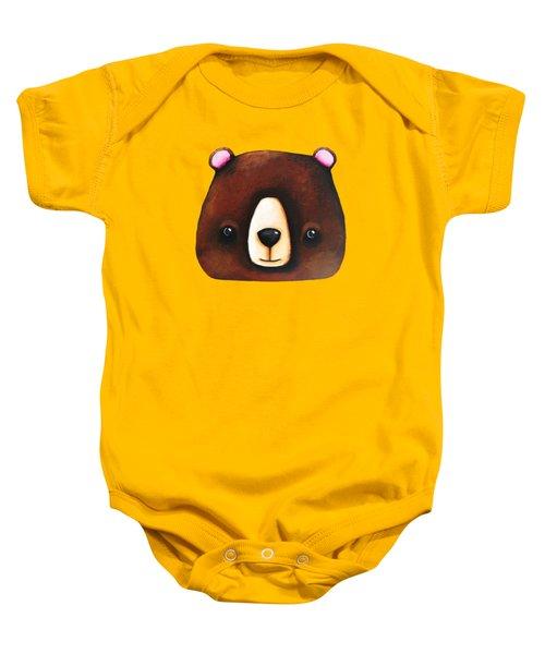 The Big Brown Bear Baby Onesie
