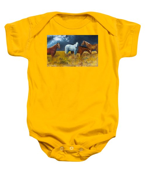 The Calm After The Storm Baby Onesie