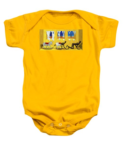 The Death Of Innocence Baby Onesie