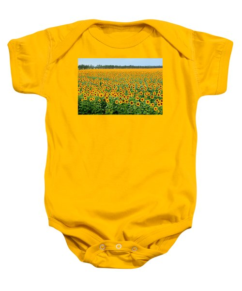 The Field Of Suns Baby Onesie