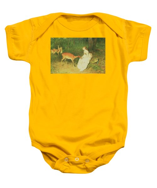The Forest Pet Baby Onesie