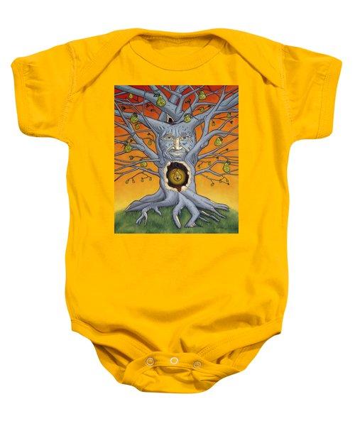 The Golden Pear Baby Onesie