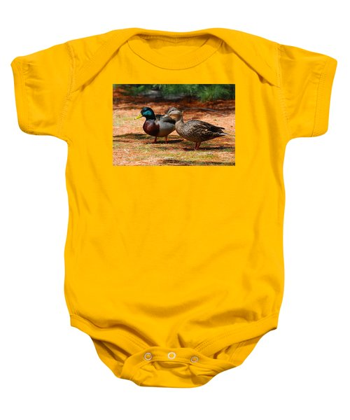 The Honeymooners - Mallard Ducks  Baby Onesie