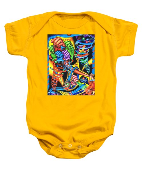 The Infinite Expansion Of A Cosmic Revelation Baby Onesie