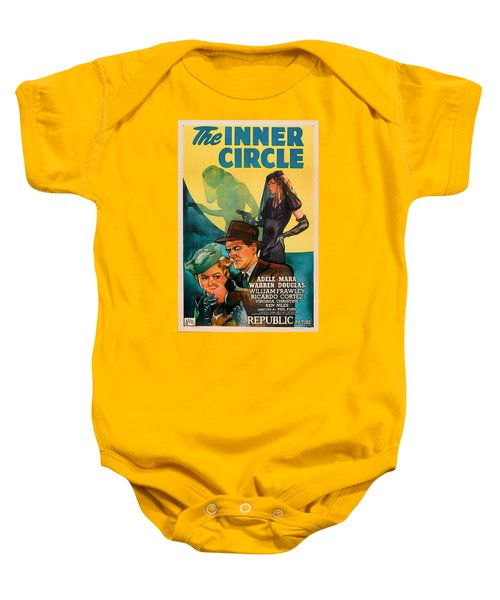 The Inner Circle 1946 Baby Onesie by Mountain Dreams