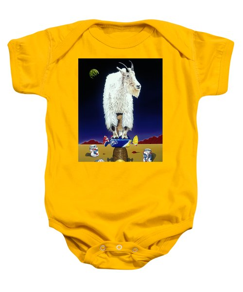 The Intoxicated Mountain Goat Baby Onesie