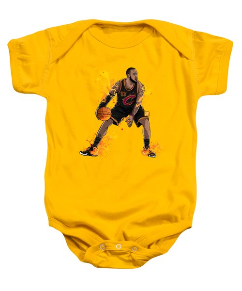 The King James Baby Onesie by Akyanyme