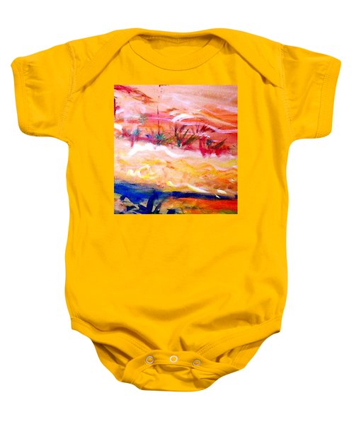 The Living Dunes Baby Onesie by Winsome Gunning