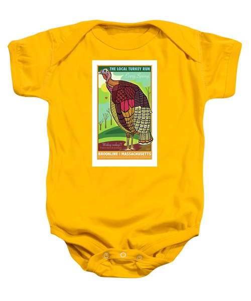 The Local Turkey Run Baby Onesie