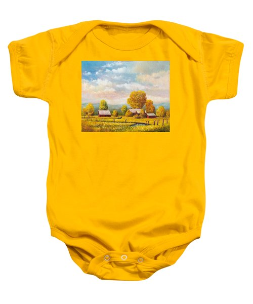 The Lonely Horse Baby Onesie