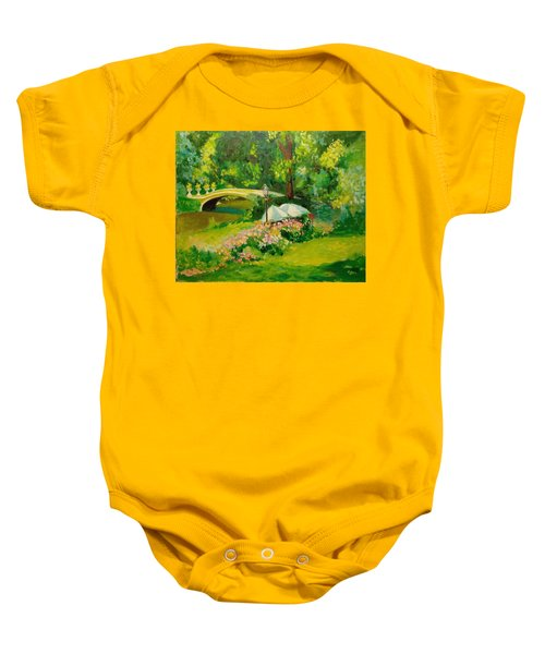 The Magnificent Bow Bridge Baby Onesie