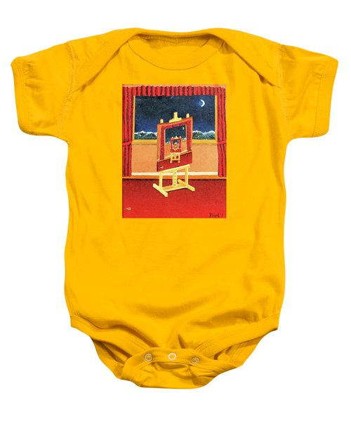 The Paintings Within Baby Onesie