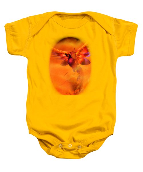 The Phoenix Baby Onesie by Brandy Thomas