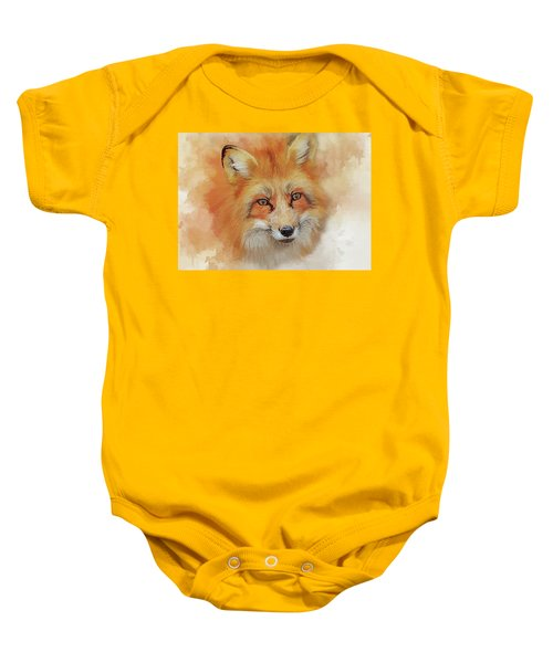 The Red Fox Baby Onesie