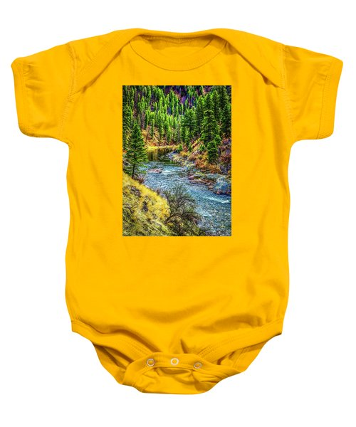 The River Baby Onesie