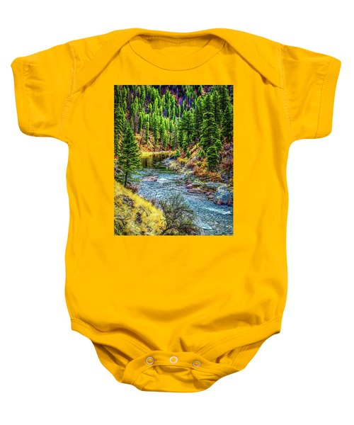 The River Baby Onesie