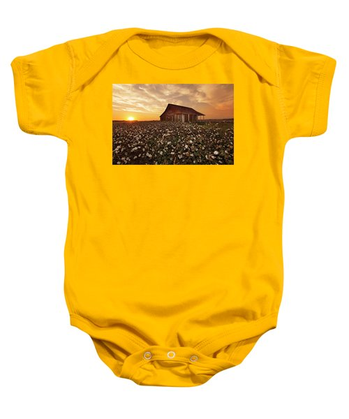 The Sharecropper Shack Baby Onesie