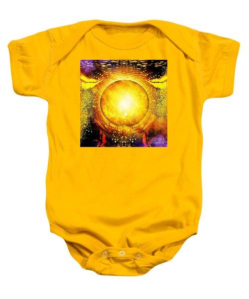 The Sun In Your Hands Baby Onesie